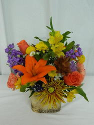 Rustic Fall from local Myrtle Beach florist, Bright & Beautiful Flowers