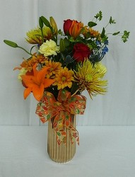 Gilded Fall from local Myrtle Beach florist, Bright & Beautiful Flowers