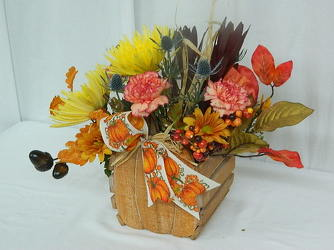 Country Pumpkin from local Myrtle Beach florist, Bright & Beautiful Flowers