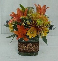 Autumn Elegance from local Myrtle Beach florist, Bright & Beautiful Flowers