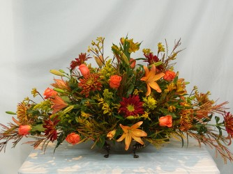Autumn Adoration from local Myrtle Beach florist, Bright & Beautiful Flowers