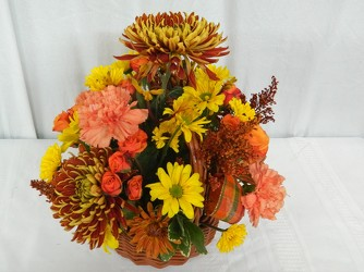 Forever Autumn from local Myrtle Beach florist, Bright & Beautiful Flowers