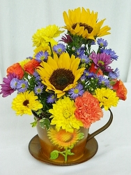 Sunny Autumn from local Myrtle Beach florist, Bright & Beautiful Flowers