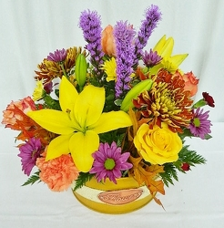 All About Autumn from local Myrtle Beach florist, Bright & Beautiful Flowers