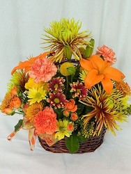 Colors of Autumn from local Myrtle Beach florist, Bright & Beautiful Flowers