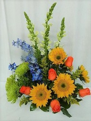 Simple Autumn Elegance from local Myrtle Beach florist, Bright & Beautiful Flowers