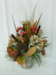 Autumn Naturally from local Myrtle Beach florist, Bright & Beautiful Flowers