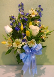 Bundle of Joy from local Myrtle Beach florist, Bright & Beautiful Flowers