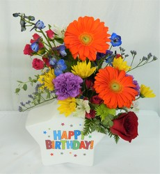 Your Day to Shine from local Myrtle Beach florist, Bright & Beautiful Flowers