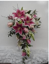 Traditional Stargazers from local Myrtle Beach florist, Bright & Beautiful Flowers