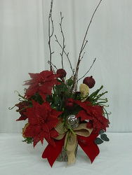 Christmas Natually from local Myrtle Beach florist, Bright & Beautiful Flowers