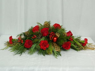 Celebrate Christmas from local Myrtle Beach florist, Bright & Beautiful Flowers