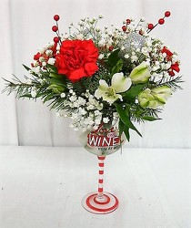 Love the Wine You're With from local Myrtle Beach florist, Bright & Beautiful Flowers