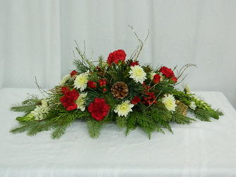 Simply Christmas from local Myrtle Beach florist, Bright & Beautiful Flowers