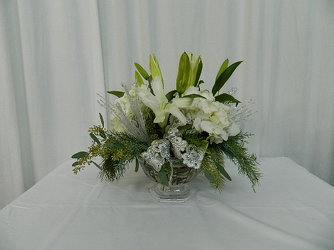 Holiday on Ice from local Myrtle Beach florist, Bright & Beautiful Flowers