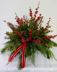 Wishing you a Berry Christmas from local Myrtle Beach florist, Bright & Beautiful Flowers