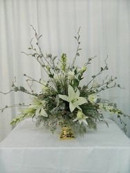 Holiday Extravanza (Silk) from local Myrtle Beach florist, Bright & Beautiful Flowers