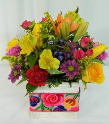 Brilliant Spring Treasues from local Myrtle Beach florist, Bright & Beautiful Flowers