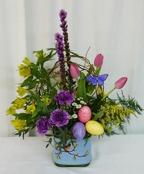 Joyous Spring from local Myrtle Beach florist, Bright & Beautiful Flowers