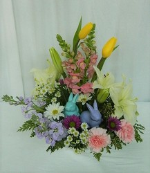 Beach Bunnies from local Myrtle Beach florist, Bright & Beautiful Flowers