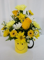 Smile from local Myrtle Beach florist, Bright & Beautiful Flowers