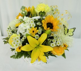 Sunny Daze from local Myrtle Beach florist, Bright & Beautiful Flowers