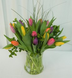 Tulip Treasures from local Myrtle Beach florist, Bright & Beautiful Flowers