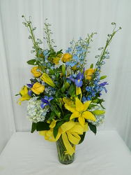 The Ocean and the Stars from local Myrtle Beach florist, Bright & Beautiful Flowers