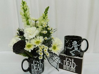 Just Add COFFEE! from local Myrtle Beach florist, Bright & Beautiful Flowers