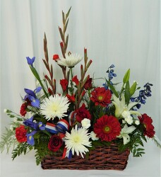 America the Beautiful from local Myrtle Beach florist, Bright & Beautiful Flowers