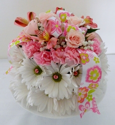 Let Them Eat Cake from local Myrtle Beach florist, Bright & Beautiful Flowers