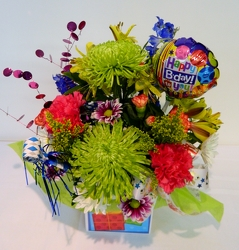 Get the Party Started from local Myrtle Beach florist, Bright & Beautiful Flowers
