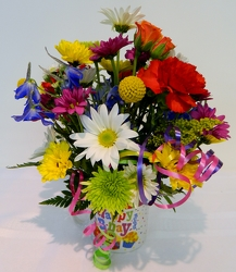 It's My Party from local Myrtle Beach florist, Bright & Beautiful Flowers
