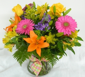 The Joy of Color from local Myrtle Beach florist, Bright & Beautiful Flowers