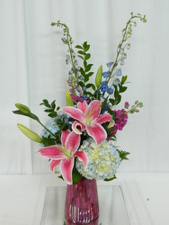 Simplicity from local Myrtle Beach florist, Bright & Beautiful Flowers