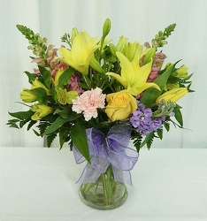 Spring Symphony from local Myrtle Beach florist, Bright & Beautiful Flowers
