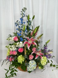 Treasured Memories from local Myrtle Beach florist, Bright & Beautiful Flowers