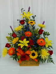 Summer Garden from local Myrtle Beach florist, Bright & Beautiful Flowers
