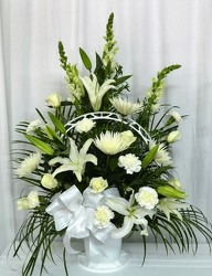 Angel Wings Basket from local Myrtle Beach florist, Bright & Beautiful Flowers