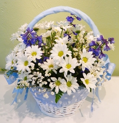 Sweet Tears Basket from local Myrtle Beach florist, Bright & Beautiful Flowers