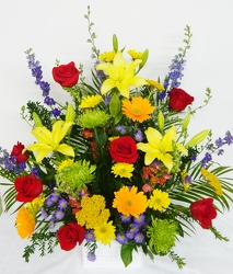 Glorious Garden from local Myrtle Beach florist, Bright & Beautiful Flowers