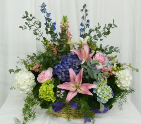 Walk in the Garden from local Myrtle Beach florist, Bright & Beautiful Flowers