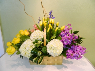 Basket of Hope from local Myrtle Beach florist, Bright & Beautiful Flowers