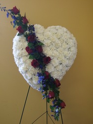 Touching Tribute from local Myrtle Beach florist, Bright & Beautiful Flowers