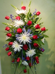 Hero's Tribute from local Myrtle Beach florist, Bright & Beautiful Flowers