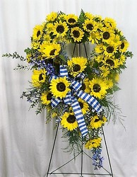Sunflower Rembrance from local Myrtle Beach florist, Bright & Beautiful Flowers
