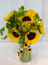 Let's Have a Sunny Day from local Myrtle Beach florist, Bright & Beautiful Flowers