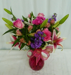 Dreaming in Pink from local Myrtle Beach florist, Bright & Beautiful Flowers