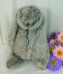 Floppy the Long Eared Bunny from local Myrtle Beach florist, Bright & Beautiful Flowers