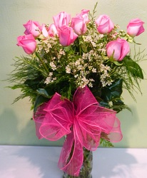 Lovely in Pink from local Myrtle Beach florist, Bright & Beautiful Flowers